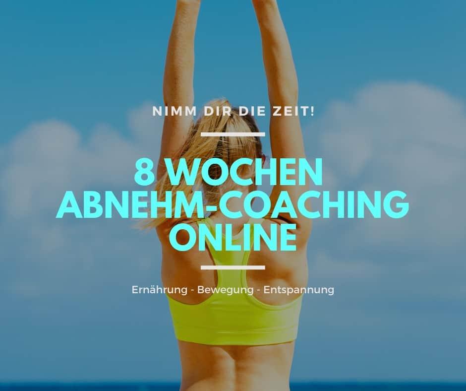 8-Wochen-Abnehm-Coaching